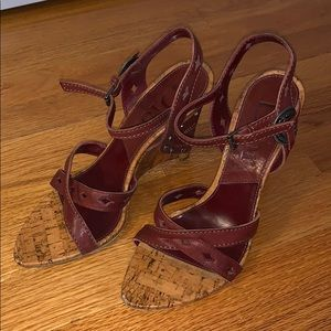 Dior Wedge Sandals